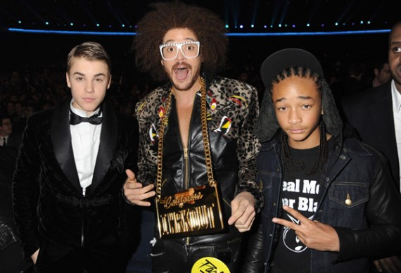 Jaden Smith Wears Air Jordan III Black Cement @ American Music Awards