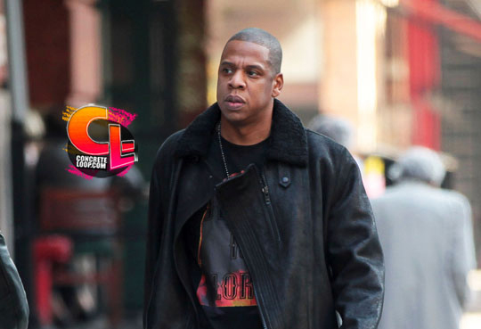 Jay Z Wearing Air Jordan III Black Cement