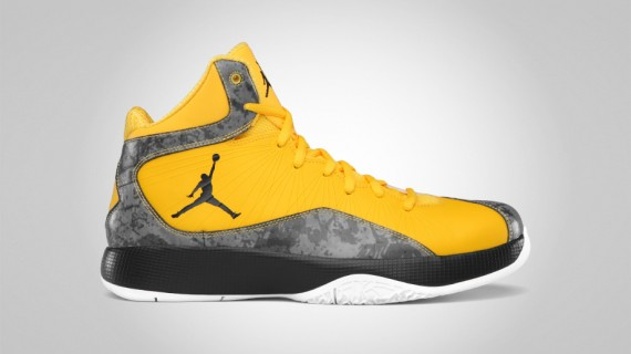 Air Jordan 2011 A Flight: Varsity Maize   Anthracite   White