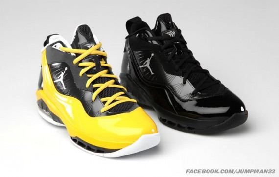 Jordan Melo M8: December 2011 Colorways
