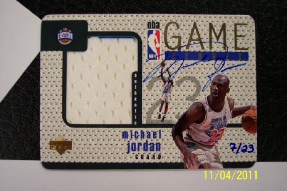 Michael Jordan Upper Deck Card Sells For $30,123