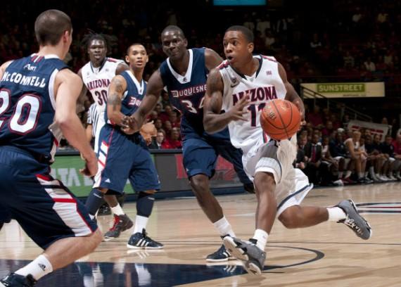 NCAA Feet  Duquesne Dukes v. Arizona Wildcats - Air Jordans 28a8a17b1a