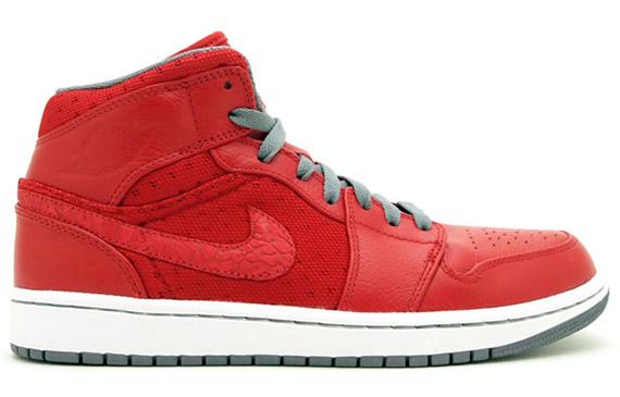 Air Jordan 1 Phat  Varsity Red - Cool Grey - White - Air Jordans ... ba9e51992