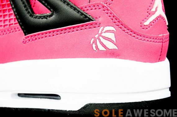 Air Jordan 4 GS: Voltage Cherry   Detailed Photos