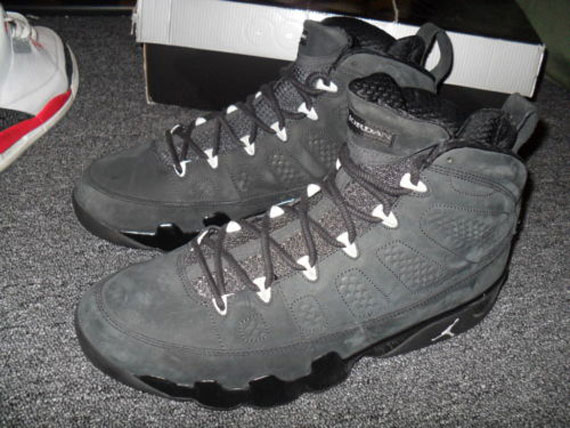 Air Jordan IX: Oregon Ducks BCS Championship PE   Available on eBay