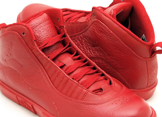 Air Jordan X Auto Clave: Varsity Red