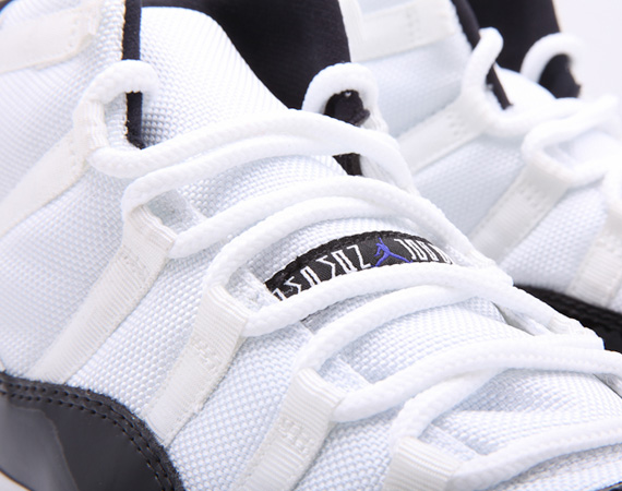 Air Jordan 11 Retro: Concord   Detailed Images