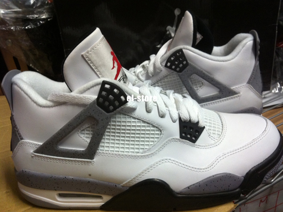 Air Jordan 4 Retro  White Cement - Available on eBay - Air Jordans ... 460527ecd