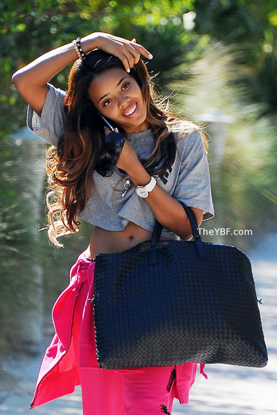 Angela Simmons Wears Air Jordan XI Concord