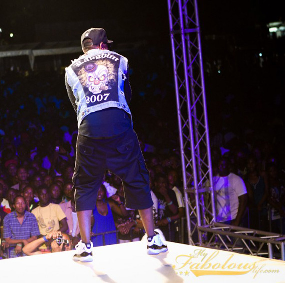 Fabolous Wearing Air Jordan XI Concord In Concert