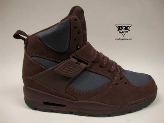 Jordan Flight 45 TRK: Brown   Grey