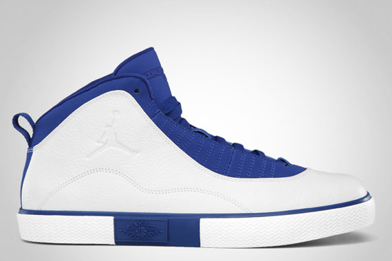 Air Jordan X Auto Clave: White   Old Royal