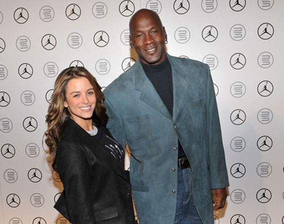 Michael Jordan Gets Engaged