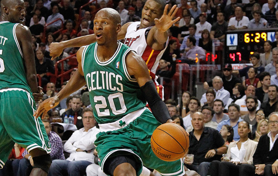 NBA Feet: Ray Allen Wears Air Jordan 2011 A Flight PE