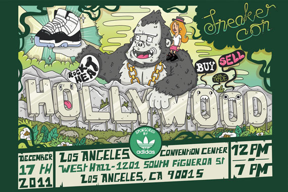 Sneaker Con Los Angeles December 2011 Event Reminder