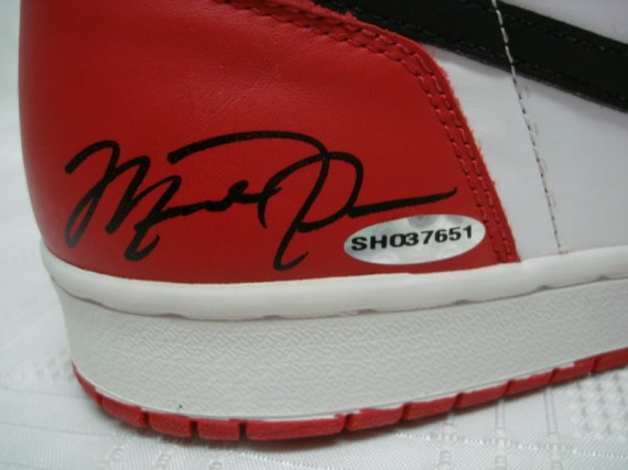 Air Jordan 1: 1994 Retro   Autographed Pair   Available on eBay