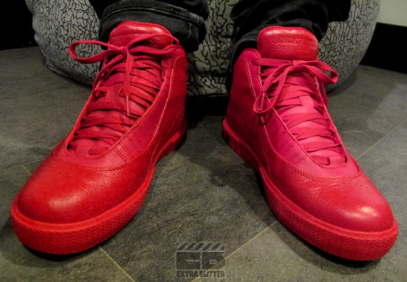 Air Jordan X Auto Clave: Varsity Red   Now Available