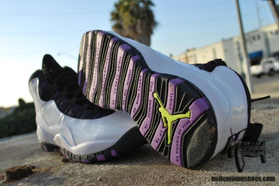 Air Jordan X GS: Violet Pop   New Images