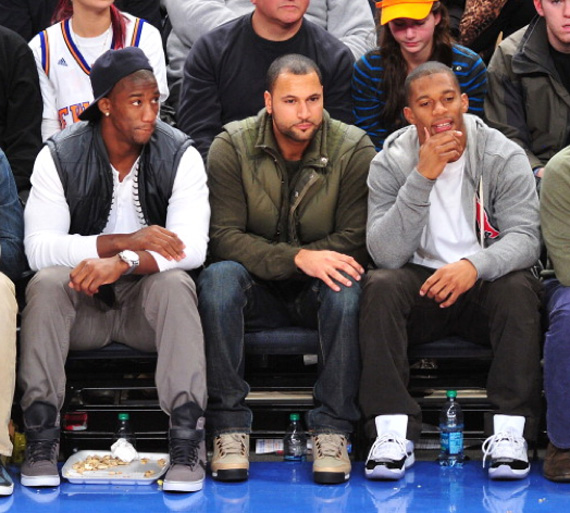 Victor Cruz Wears Air Jordan XI Concord