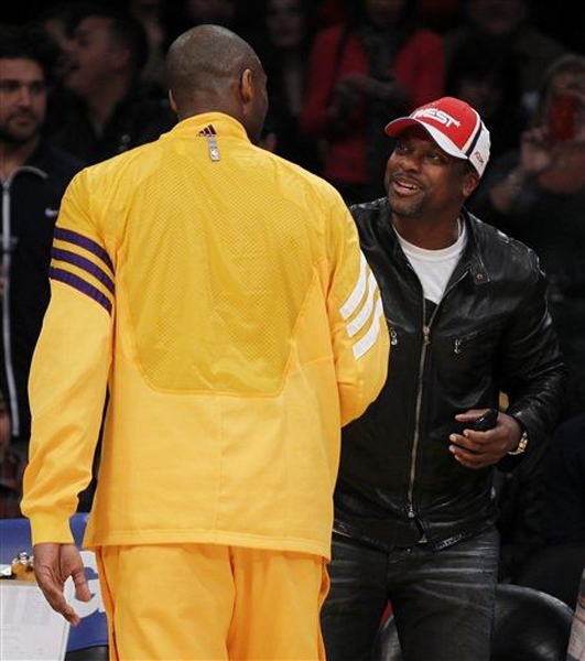 Chris Tucker Wears Air Jordan XI Concord