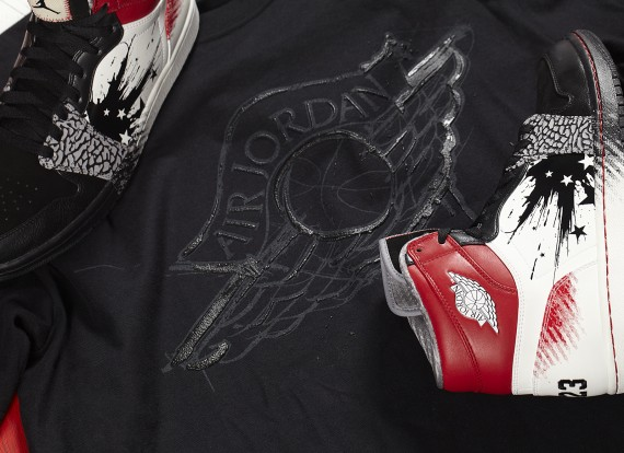 Air Jordan x Dave White: Wings For The Future T Shirt