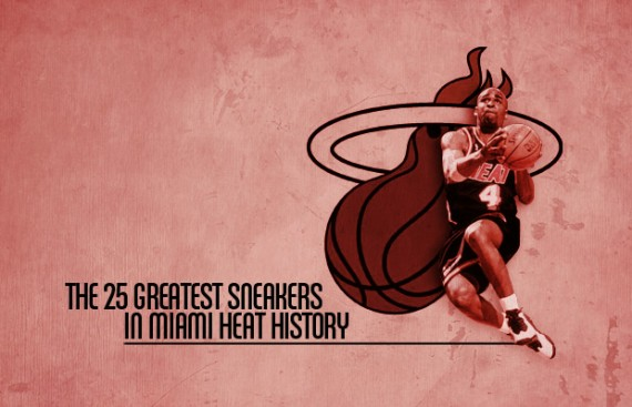 The 25 Greatest Sneakers In Miami Heat History