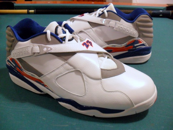 Air Jordan VIII Low: Jared Jeffries Player Exclusive