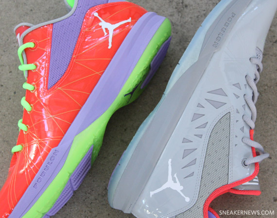 Jordan CP3.V: Jekyll & Hyde   Detailed Images