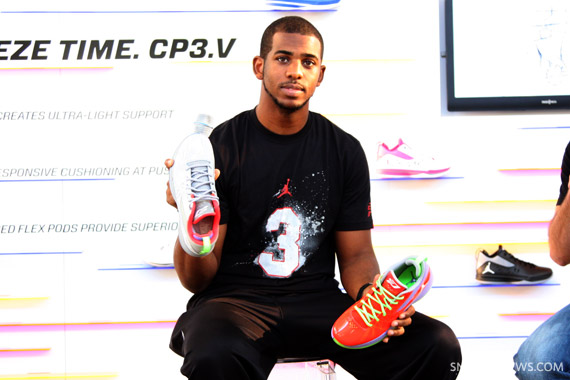 new concept 704af 622c3 This past Thursday, Jordan Brand invited select members of the media to  witness the unveiling of the Jordan CP3.V. With Chris Paul now residing in  Los ...