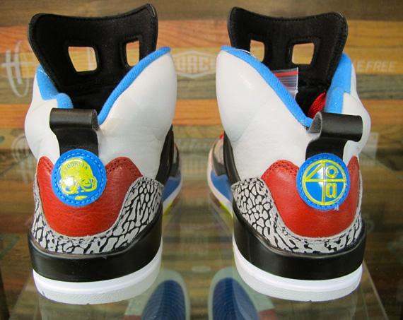 Air Jordan Spizike Bordeaux Neutral Grey Varsity Maize D shoes