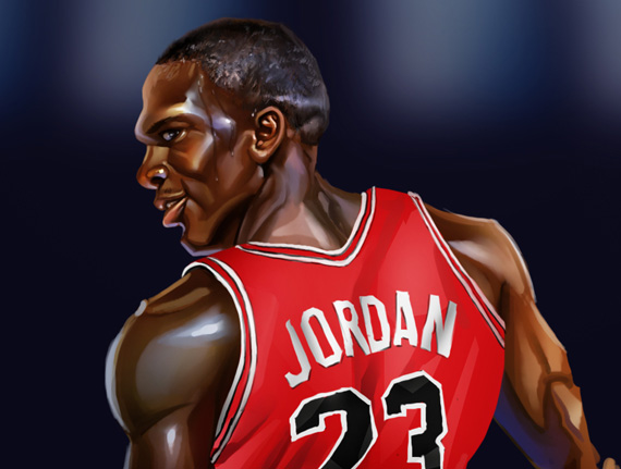 Michael Jordan Prints By A BB