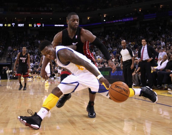 NBA Jordans On Court: Nate Robinson Wears Air Jordan XIII Playoffs