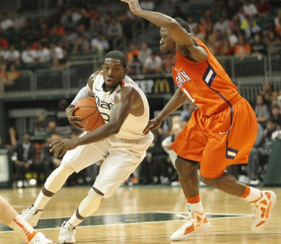 NCAA Jordans On Court: Games of January 17 18, 2012