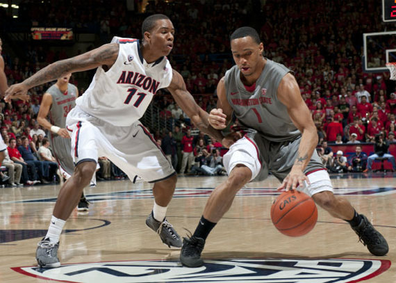 NCAA Jordans On Court: Games of January 23 26, 2012