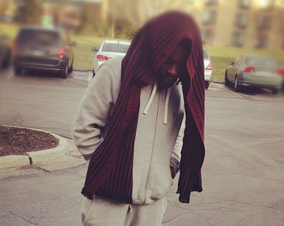 Wale Wears Air Jordan XI Concord