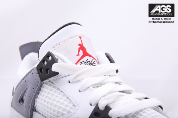Air Jordan 4 GS: White Cement   New Images