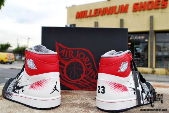 Air Jordan 1 x Dave White: Arriving at Retailers