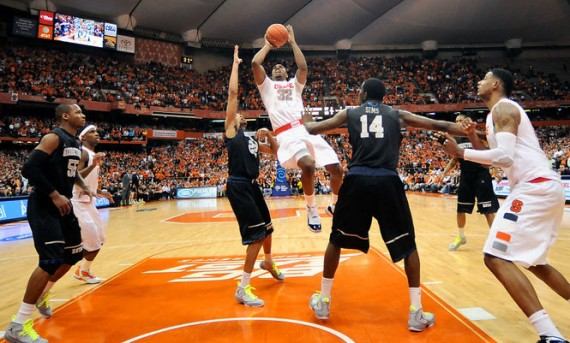 NCAA Jordans On Court: Games of February 6 8,2012