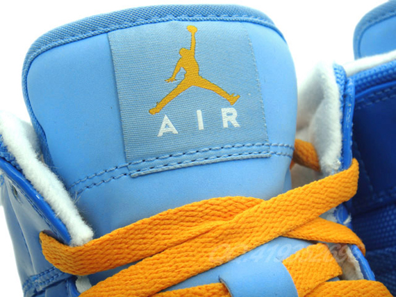 Air Jordan 1 Phat: University Blue   Italy Blue   Vivid Orange