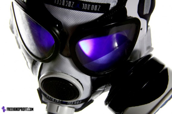 Air Jordan XI: Concord Gas Mask by Freehand Profit
