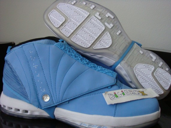 Air Jordan XVI: Pantone Sample 