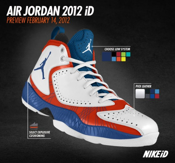 Air Jordan 2012 iD: New Images - Air Jordans, Release Dates & More