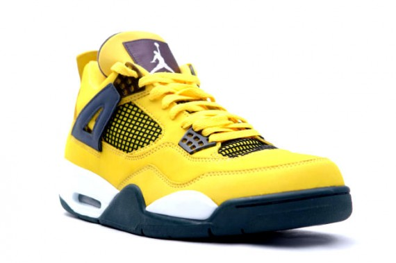The Daily Jordan: Air Jordan IV Retro Lightning