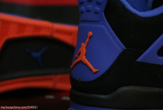 Air Jordan IV Retro: Cavaliers   Detailed Images