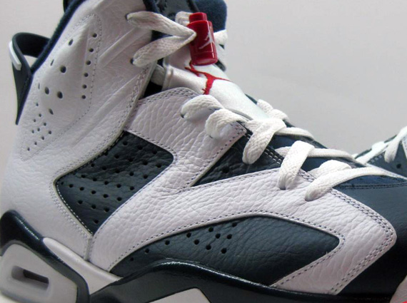 Air Jordan VI Retro: Olympic   Detailed Images