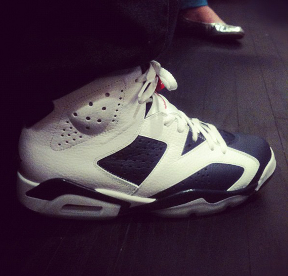 Air Jordan VI Retro: Olympic   New Images