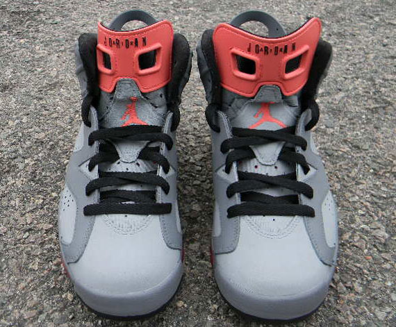 Air Jordan VI: Pigeon Custom by Impeccable Scoop