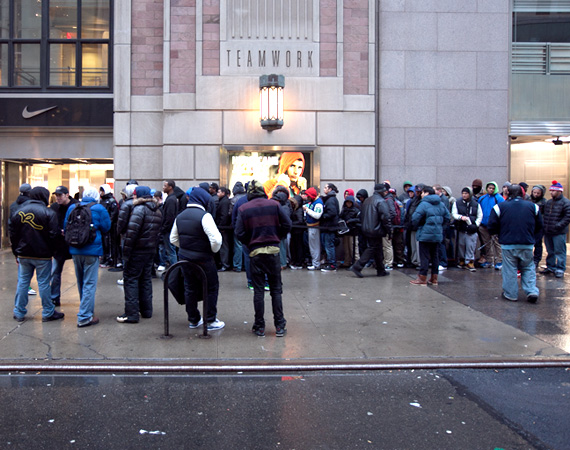 Dave White x Air Jordan 1: Niketown NY Release Recap