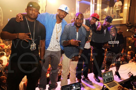 Fabolous, Lil Wayne and Trey Songz Wear Air Jordans at LIV