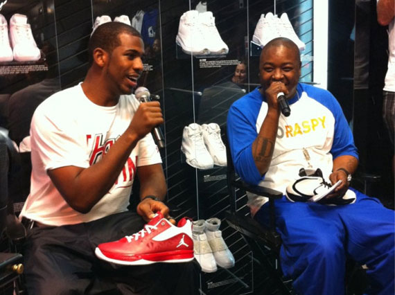 Chris Paul and Jadakiss Wear Air Jordan III & IV